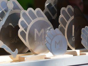 Trofei Mi Games 2017 in acciaio inox