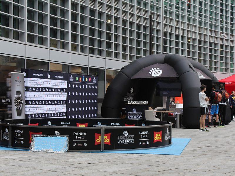 Gazebi, gonfiabili, vele e rollup personalizzati per evento