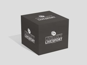 Cubo per cambio basket personalizzato con logo