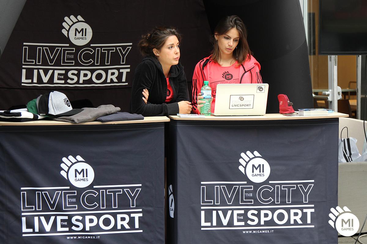 Desk personalizzati per eventi sportivi