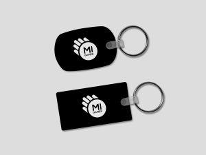 Portachiavi personalizzato con logo per società sportiva
