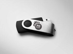 Gadget penna usb personalizzata con logo