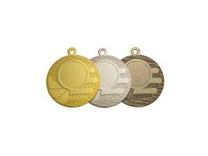 Medaglie oro argento e bronzo per premiazione