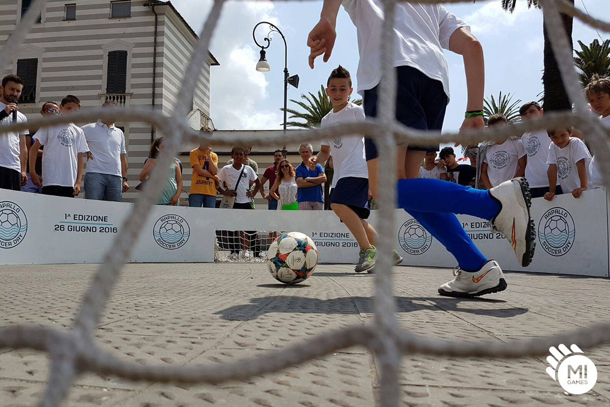 Torneo bambini calcio 1 contro 1 a Rapallo