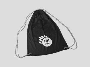 Sacchetta zainetto personalizzato con logo