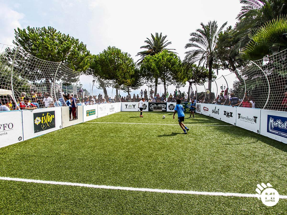 Interno del campo per gabbia calcio 3vs3