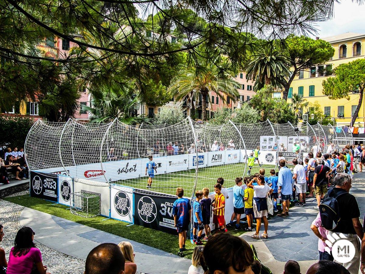 Torneo in gabbia 3vs3 - Santa Soccer Cage in piazza