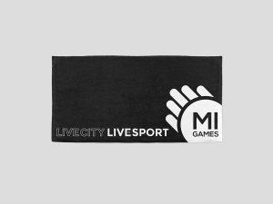Telo mare personalizzato con logo per atleta o squadra