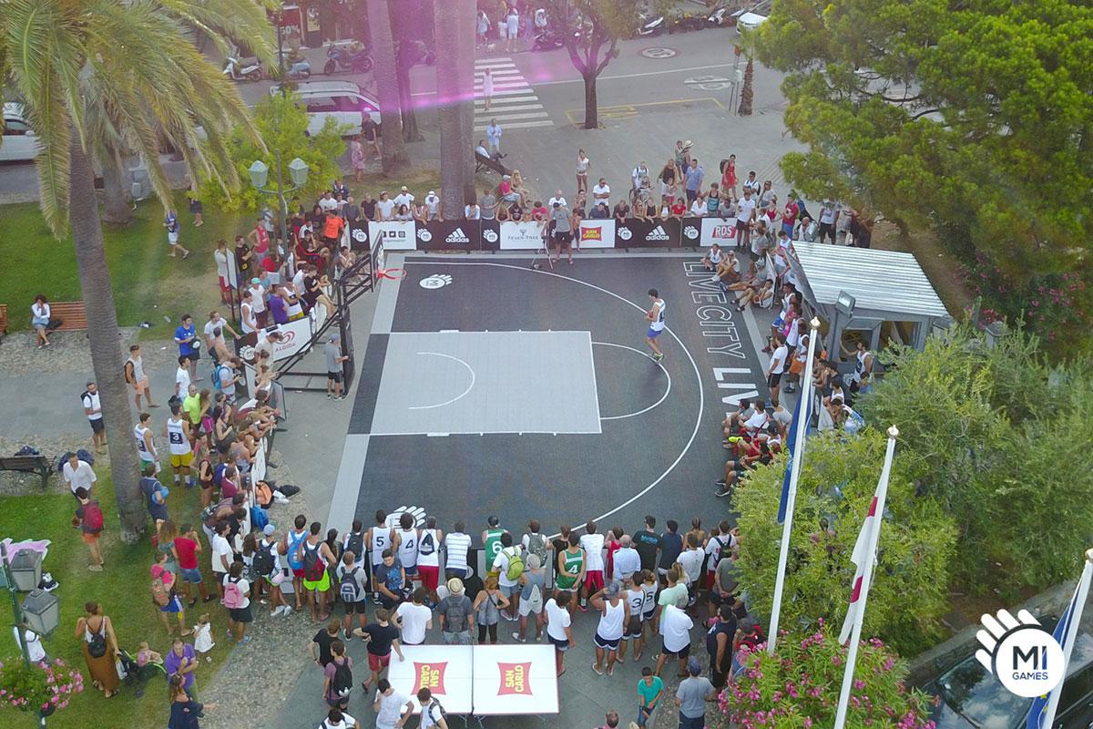 campo da basket noleggiato a Santa Margherita Ligure